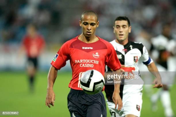 Peter ODEMWINGIE Lille / Rennes 1ere journee de Ligue 1 Stadium Villeneuve d'ascq