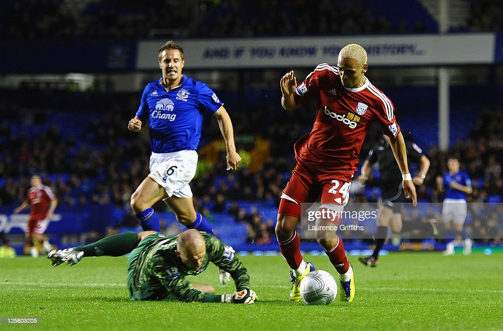 Everton v West Bromwich Albion - Carling Cup Third Round
