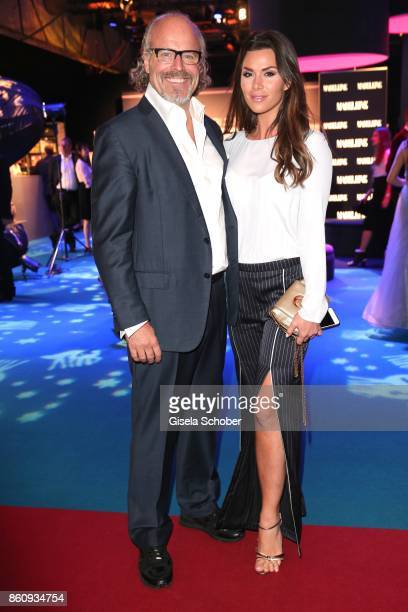 Peter Olsson and his girlfriend Diana Buergin during the 'Tribute To Bambi' gala at Station on October 5 2017 in Berlin Germany
