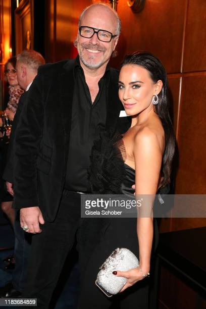 Peter Olsson and Jeannine Nujic during the Tribute To Bambi at Casino BadenBaden on November 20 2019 in BadenBaden Germany