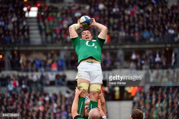 Peter O'MAHONY - - France / Irlande - Tournoi des 6 Nations 2014 , Photo : Dave Winter / Icon Sport