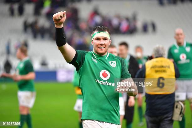 Peter O'Mahony of Ireland following the RBS Six Nations match between France and Ireland at Stade de France on February 3 2018 in Paris France