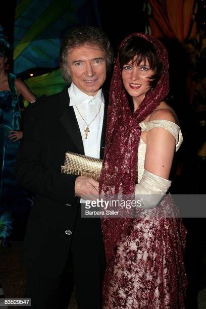 Peter Orloff and wife attend the UNESCO Benefit Gala for Children 2008 at Hotel Maritim on November 1 2008 in Cologne Germany