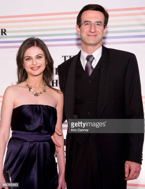 Peter Orszag poses for photographers on the red carpet before the 32nd Kennedy Center Honors at Kennedy Center Hall of States on December 6 2009 in...