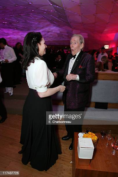 Peter O'Toole and daughter Kate O'Toole during 2007 Vanity Fair Oscar Party Hosted by Graydon Carter Inside at Mortons in West Hollywood California...