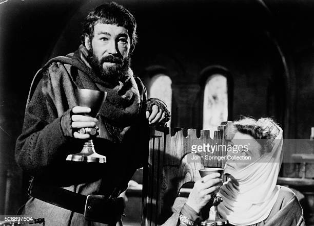 Peter O'Toole as King Henry II and Katharine Hepburn as Eleanor of Aquitaine in 1968 film The Lion in Winter