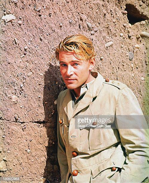 Peter O'Toole, Irish actor, in a publicity portrait issued for the film, 'Lord Jim', 1965. The adventure film, adapted from the novel by Joseph...