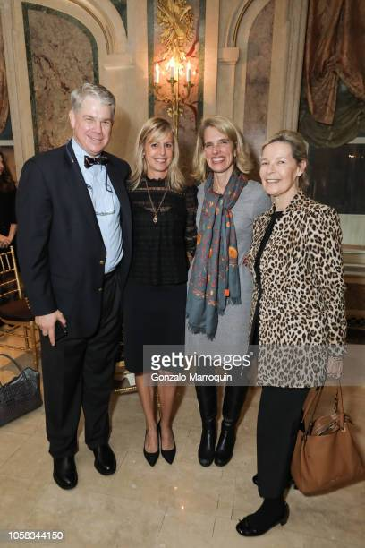 Peter Paine Andrea Meyer Cord Sophie Glovier and Mona Arnold during the Hope for Depression Research Foundation 12th Annual Hope Luncheon Seminar at...