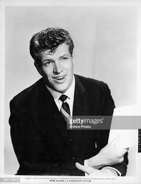 Peter Palmer in publicity portrait for the film 'Li'l Abner', 1959.
