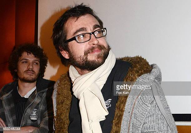 'Peter Pan' and 'Raging Balls' director Nicolas Duval attends The ''C'Est Pas La Taille Qui Compte' Short Movies Screening At Le Paname Cafe on...