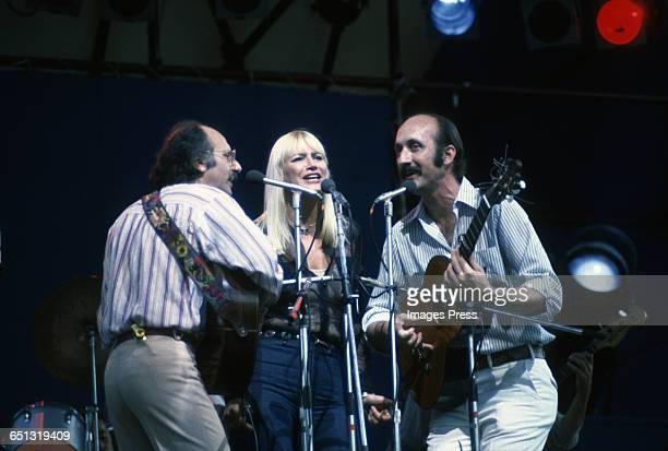 Peter Paul and Mary in concert circa 1978 in New York City