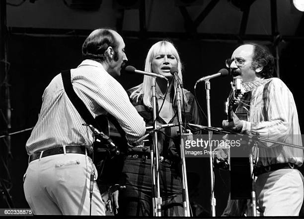 Peter Paul and Mary Reunion Tour circa 1978 in New York City