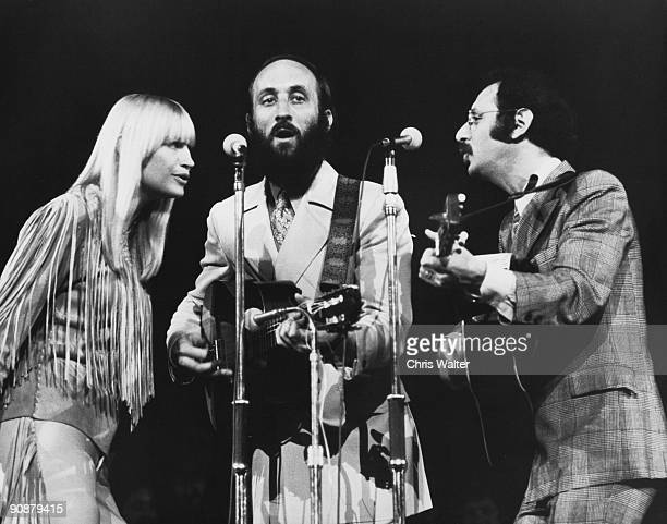 Peter Paul Mary 1969 Mary Travers Paul Stooket and Peter Yarrow