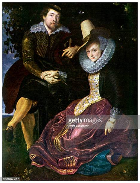 Peter Paul Rubens Flemish Baroque artist 1609 A self portrait of Rubens 15771640 and his first wife Isabella Brant Rubens is considered by many to be...