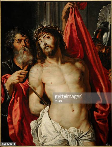 Peter Paul Rubens Flemish Baroque painter Christ Crowned with Thorns 'Ecce Homo' 1612 The State Hermitage Museum Saint Petersburg Russia