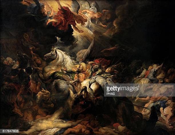 Peter Paul Rubens Flemish painter Defeat of Sennacherib 16161618 Alte Pinakothek Munich Germany