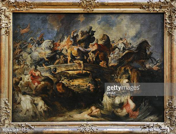 Peter Paul Rubens Was a Germanborn Flemish Baroque painter Battle of the Amazons 1618 Oil on panel Alte Pinakothek Munich Germany