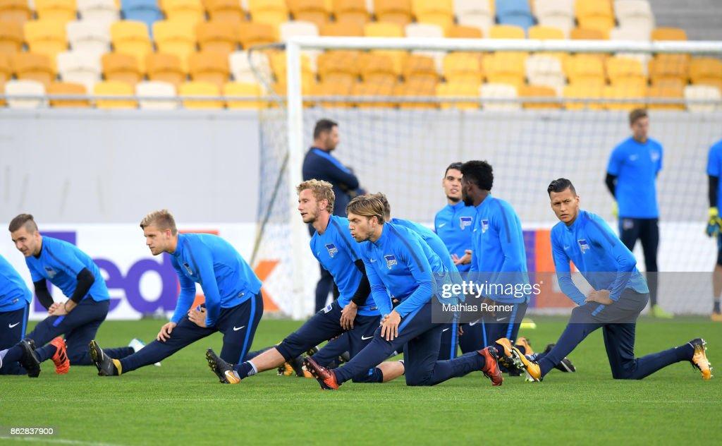 Hertha BSC - training : Nachrichtenfoto