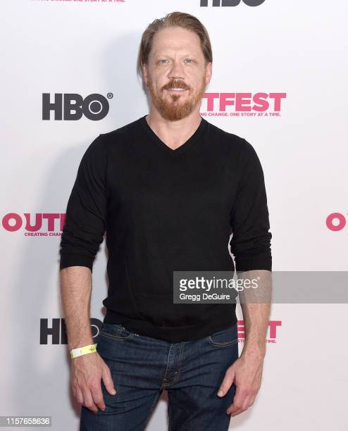 Peter Perkowski arrives at the 2019 Outfest Los Angeles LGBTQ Film Festival Screening Of Kathy Griffin A Hell Of A Story at Ford Theatre on July 25...