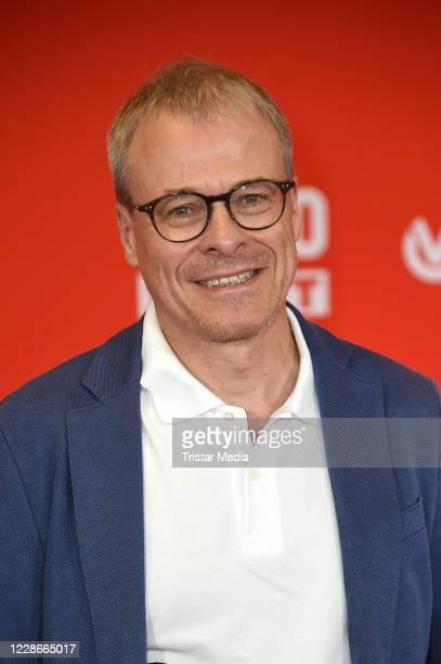 Peter Peters attends the BILD100 Sport Get Together at Deutsche Bank Park on September 23, 2020 in Frankfurt am Main, Germany.