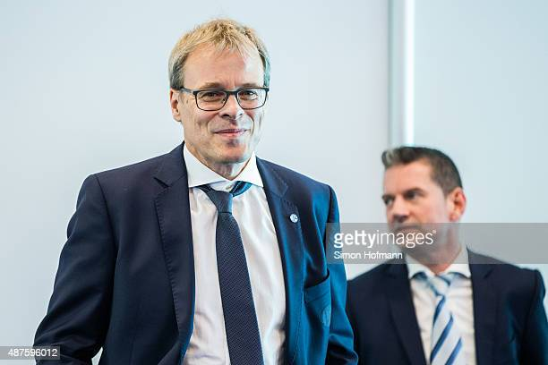Peter Peters attends the FC Schalke 04 111th Anniversary Gala at Musiktheater im Revier on September 10, 2015 in Gelsenkirchen, Germany.