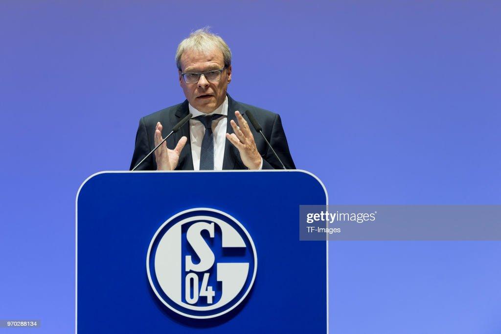 FC Schalke 04 General Assembly : News Photo