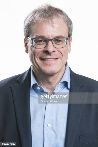 Peter Peters poses for a portrait during a DFB Executive Board Meeting at DFB Headquarter on March 10, 2017 in Frankfurt am Main, Germany.