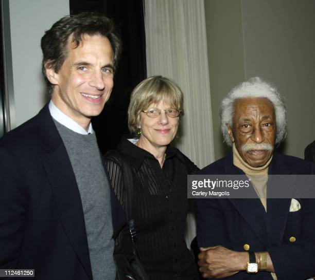 Peter Petre Editor of Fortune Magazine Ann Banks and Gordon Parks