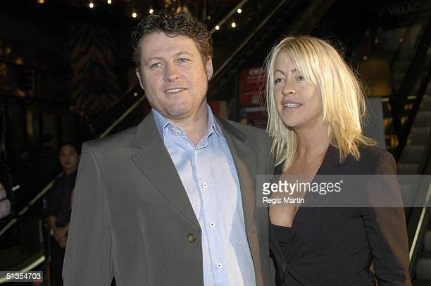 17/07/02 Peter Phelps and Donna Fowkes arrive at the Melbourne premiere of the movie DIRTY DEEDS at the Village Cinemas at Crown casino Melbourne...