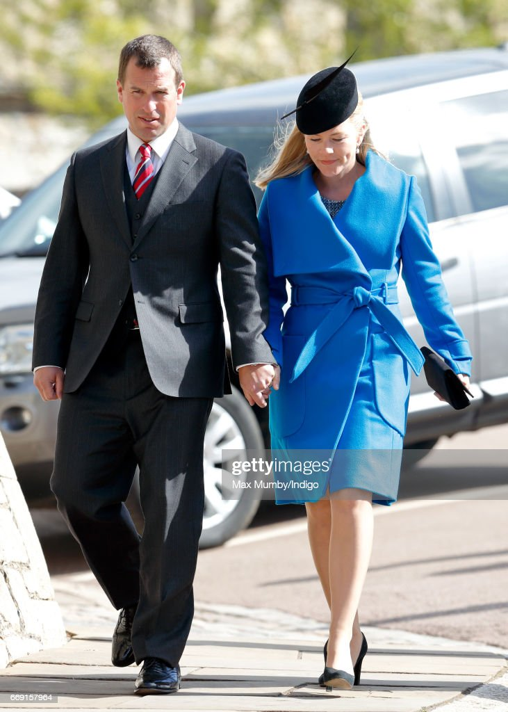 The Royal Family Attend Easter Day Service In Windsor : News Photo