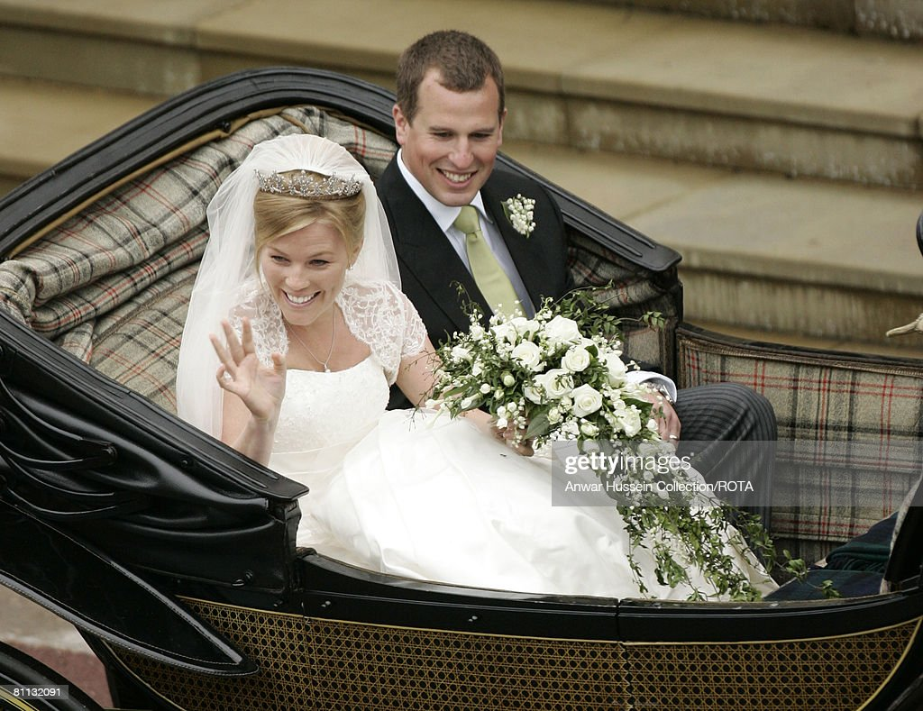 The Wedding of Peter Phillips to Autumn Kelly : News Photo