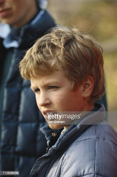 Peter Phillips during a visit to an outward bound centre in Aberdovey Wales Great Britain 4 April 1988 Peter is the son of Princess Anne and her...