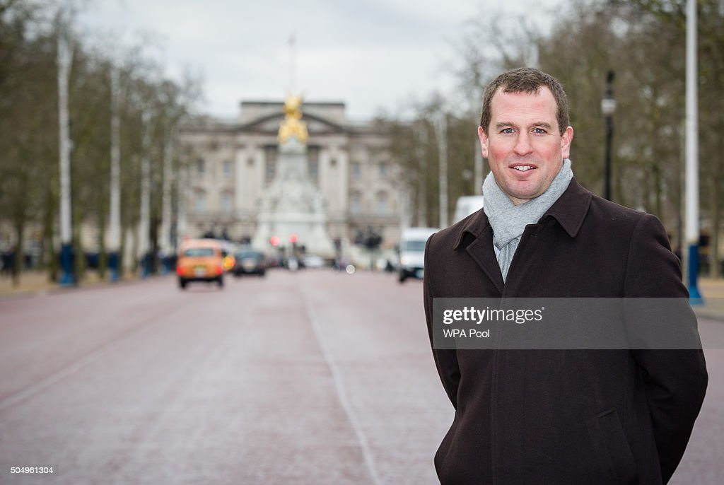 Peter Phillips poses for a photo on The Mall where 10,000 guests will attend The Patron's Lunch to be held on June 12, 2016, which will celebrate his grandmother, Her Majesty Queen Elizabeth II's patronage of more than 600 charities and organisation, on the occasion of her 90th birthday on January 14, 2016 in London, England.