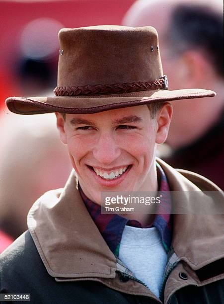 Peter Phillips Wearing A Suede Cowboystyle Hat At Gatcombe Park Novice Horse Trials