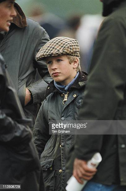 Peter Phillips wearing a waxed jacket and tweed cap at the Royal Windsor Horse Show held at Home Park in Windsor Berkshire England Great Britain 23...