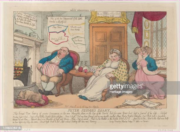 Peter Plumb's Diary May 20 1810 Artist Thomas Rowlandson