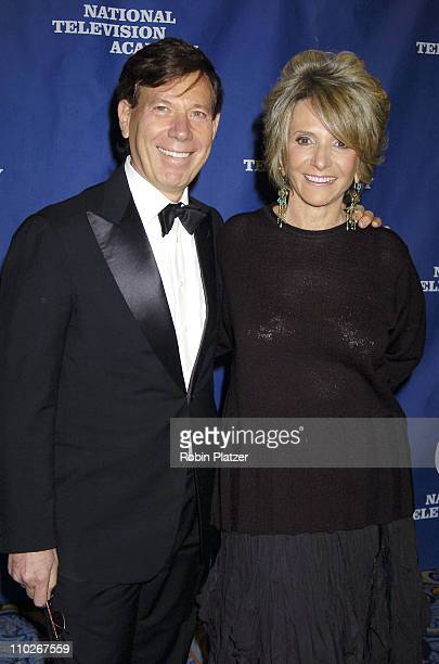 Peter Price and Sheila Nevins during The 26th Annual News and Documentary Emmy Awards Ceremony at The Marriott Marquis Hotel in New York New York...