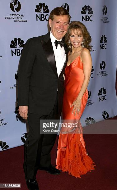 Peter Price and Susan Lucci during 31st Annual Daytime Emmy Awards Pressroom at Radio City Music Hall in New York City New York United States