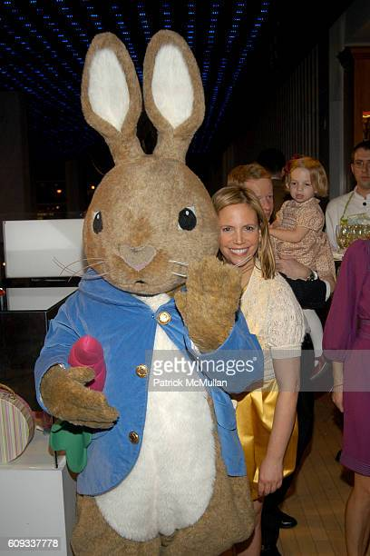 Peter Rabbit and Susie Hilfiger attend The Society of Memorial SloanKettering Cancer Center's 16th Annual Bunny Hop at FAO Schwarz on March 13 2007...