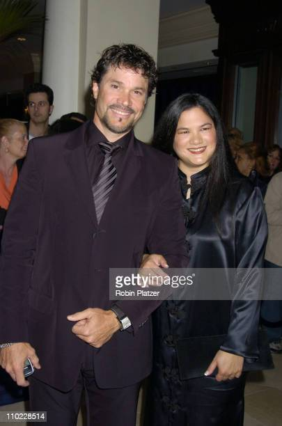 Peter Reckell and Kelly Moneymaker during 32nd Annual Daytime Emmy Awards Outside Arrivals at Radio City Music Hall in New York City New York United...