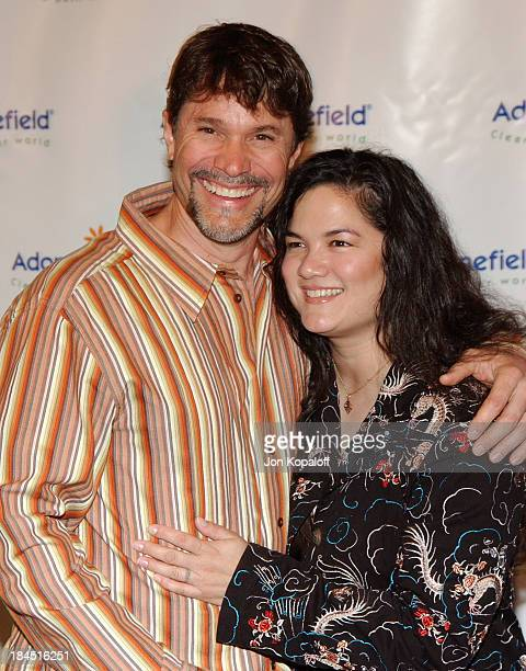 Peter Reckell and Kelly Moneymaker during 4th Annual AdoptAMinefield Gala at Century Plaza Hotel in Century City California United States