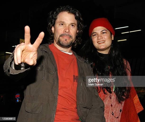Peter Reckell and Kelly Moneymaker during 72nd Annual Hollywood Christmas Parade Red Carpet at Hollywood Roosevelt Hotel in Hollywood California...