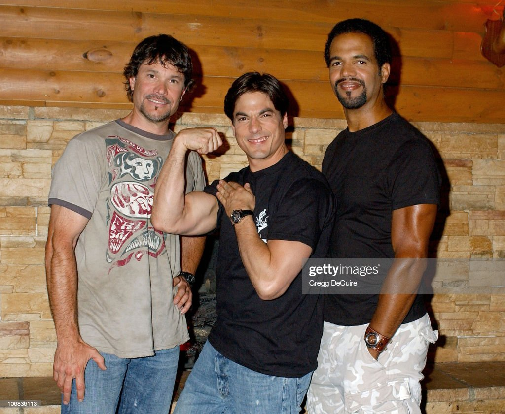 Peter Reckell, Bryan Dattilo and Kristoff St. John Tape Host Segments for WE's