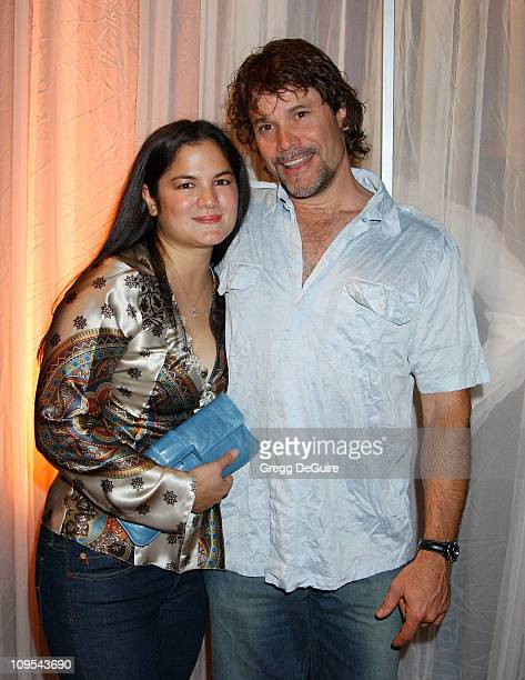 Peter Reckell wife Kelly Moneymaker during Hugo Boss Celebrates The ReOpening Of Their Rodeo Drive Store at Hugo Boss Store in Beverly Hills...