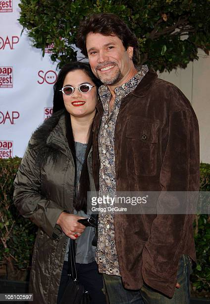 Peter Reckell Wife Kelly Moneymaker during Soapnet Presents The Soap Opera Digest Awards Arrivals at ABC Prospect Studios in Los Angeles California...