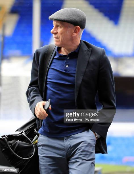 Peter Reid arrives for the Bradley Lowery charity match at Goodison Park Liverpool PRESS ASSOCIATION Photo Picture date Sunday September 3 2017 See...