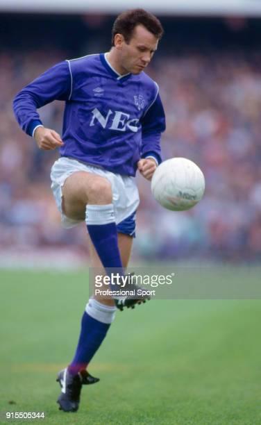 Peter Reid of Everton in action circa 1987