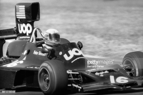 Peter Revson ShadowFord DN3 Grand Prix of Brazil Interlagos 27 January 1974 Peter Revson in his last race the 1974 Brazilian Grand prix as he was...