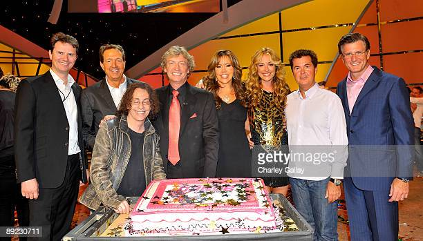 Peter Rice, chairman of Entertainment Fox Broadcasting Company; Executive Producer Barry Adelman; Mike Darnell, president of Alterrnative Programming...