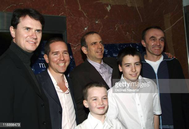 Peter Rice President of Fox Searchlight Andrew Hauptman Producer Eric Beckman Danny Boyle director Lewis McGibbon and Alex Etel